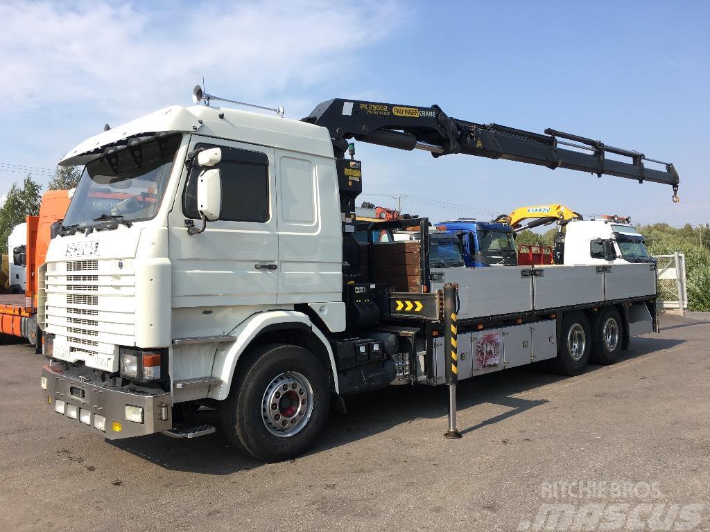 Scania R143 6x2 Palfinger 29002