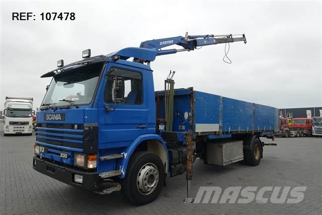 Scania 93.230 4X2 MANUAL + FERRARI 087-2