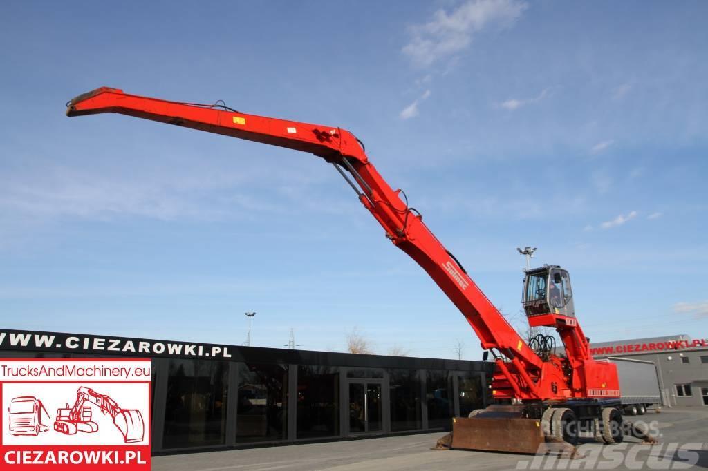Solmec 516 ESC / material handler / max lift 17m / 18t