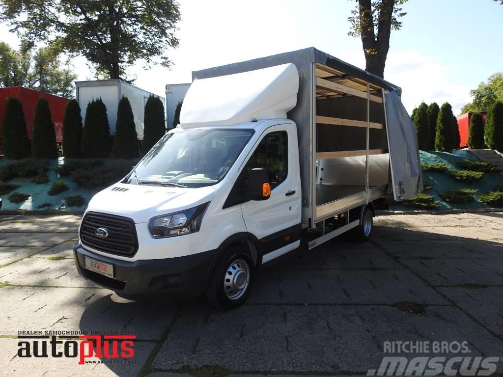 Ford Transit TARPAULIN 8 EUROPALET LIFT EURO6 A/C