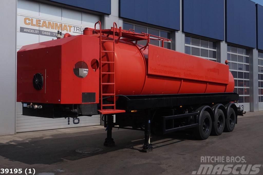 Müller Zelf dragende zuig/druk tank 25.000 liter + Deutz