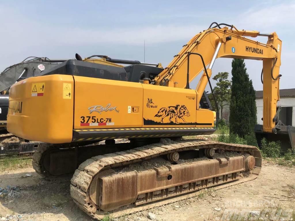 Hyundai R375LC-7H大型挖掘机