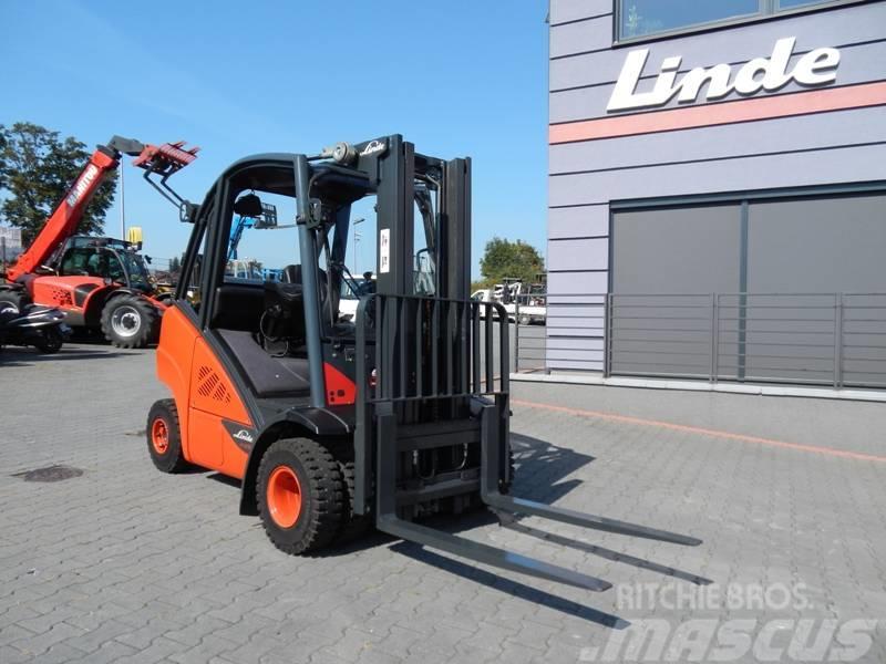 Linde H25T-02 Triplex , side shift