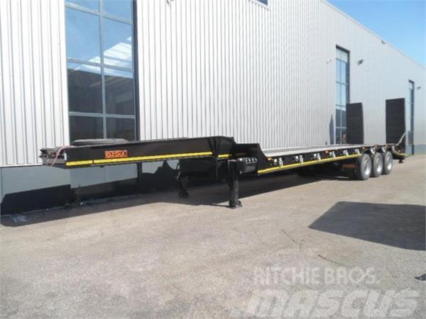 Ozgul 3 axle lowbed semi trailer 60 TON