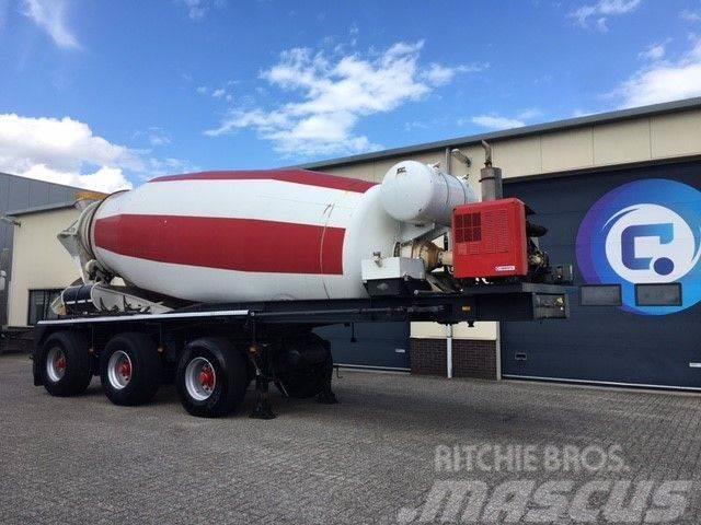 Lako Concrete mixer 15 m3 with Engine Deutz F6L912