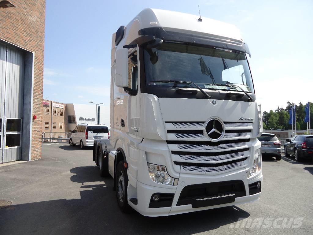 used mercedes benz actros 2551 ls 6x2 dragbil tractor units year 2018 for sale mascus usa. Black Bedroom Furniture Sets. Home Design Ideas