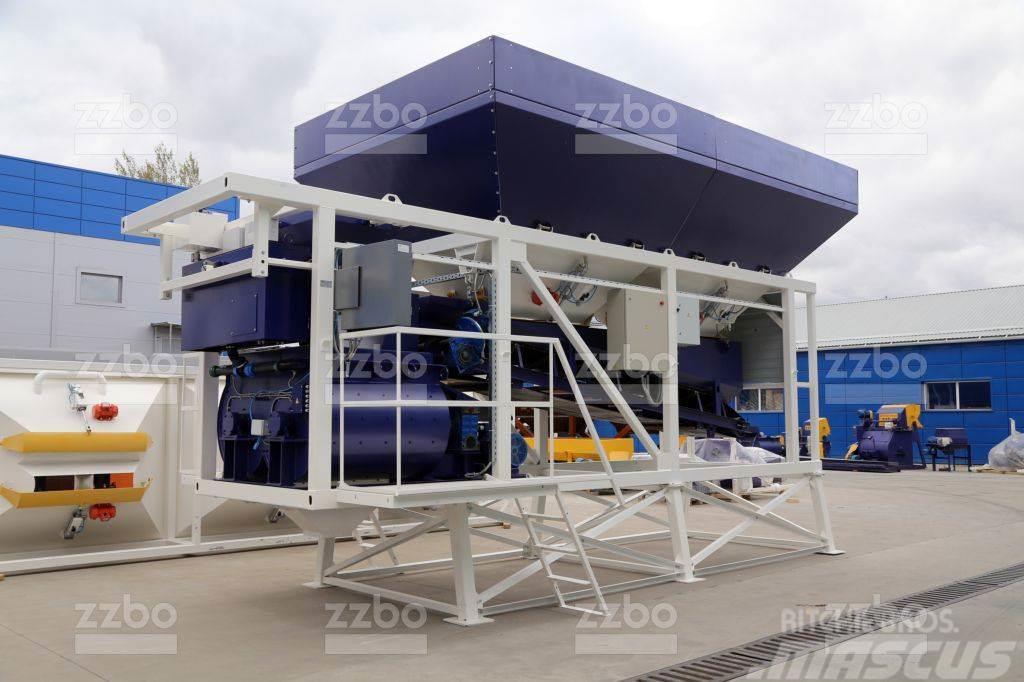 ZZBO MOBIL-45 batching plant / бетонный завод МОБИЛ-45