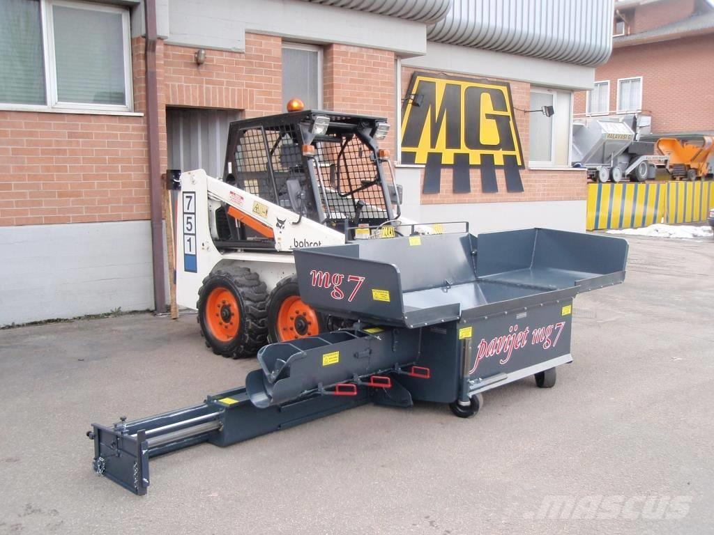 MG PAVIJET MG7 MINI ASPHALT PAVER