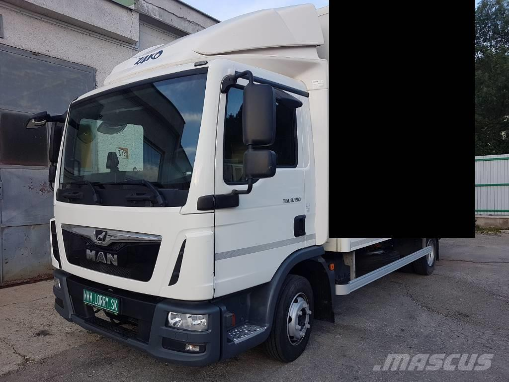 MAN TGL 8.190 EURO 6 chassis TOP condition