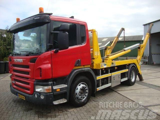 Scania P280 hyva 12 ton portaal EURO5