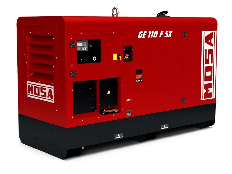 Mosa Stromerzeuger GE 110 FSX | 110 kVA / 400V / 159A