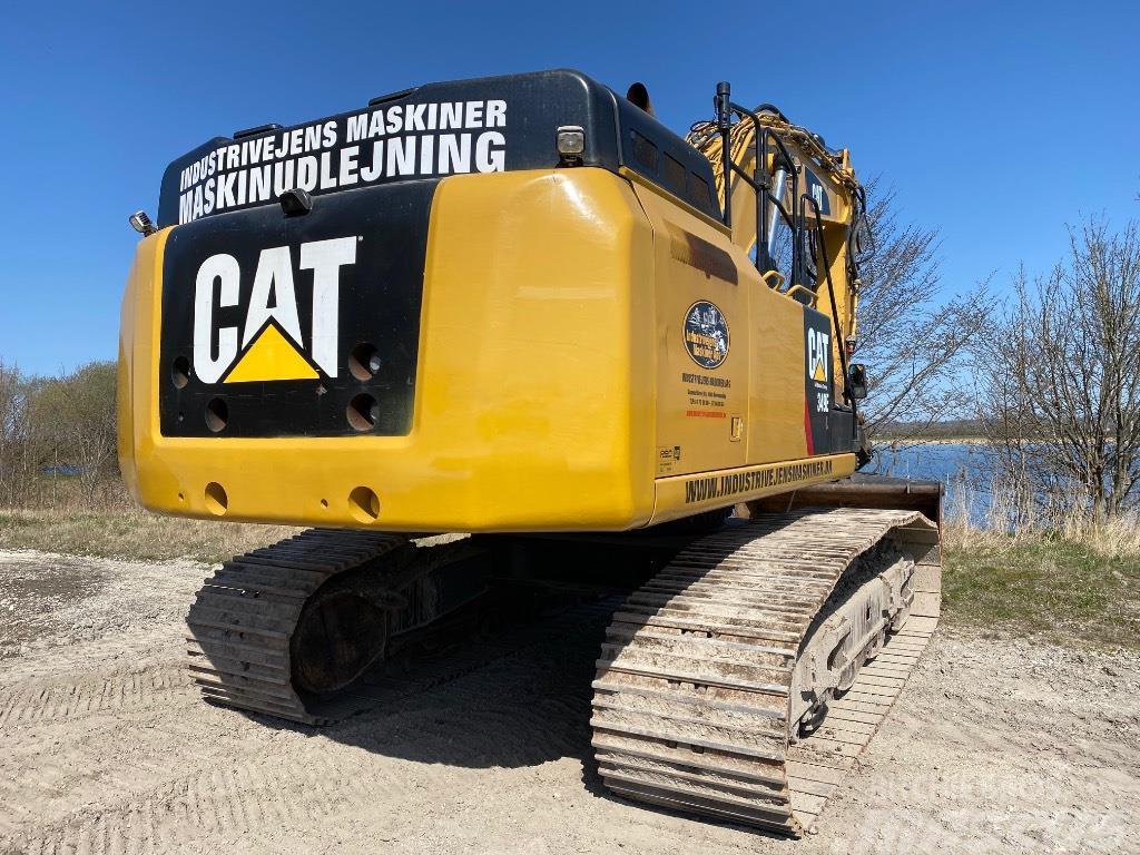 Caterpillar 349 E/349EL/349E/ gravemaskine