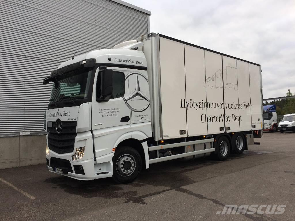 Mercedes-Benz ACTROS 2651, 2016, Reefer Trucks ...