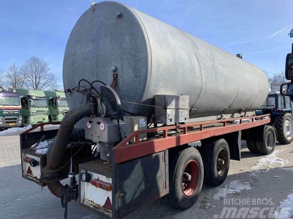 D-tec 26m3 Mesttransporttank Pomp-Pumpe VMA Bemonstering