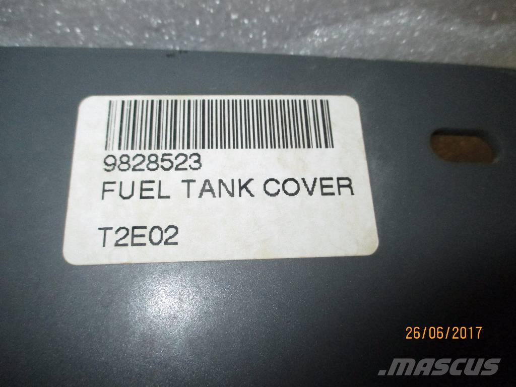Liebherr 9828523  FUEL TANK COVER -NEW ORIGINAL