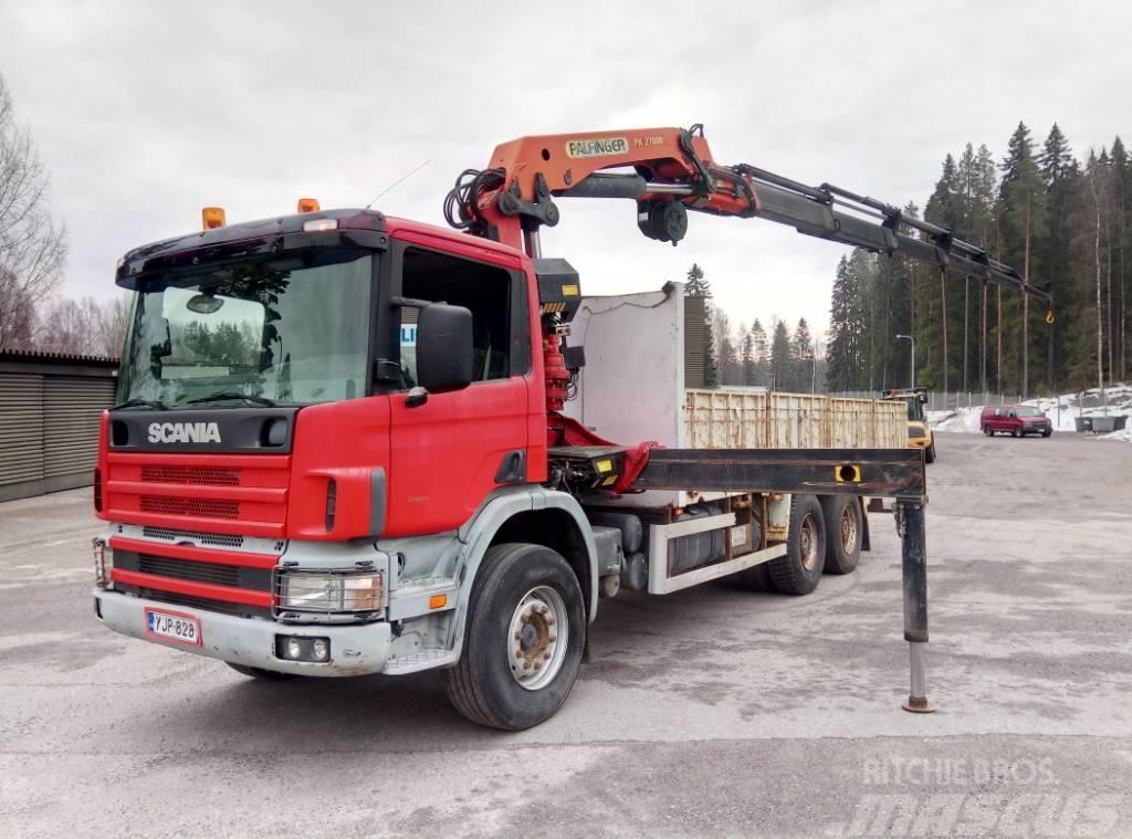 Scania P94 CB 6x4
