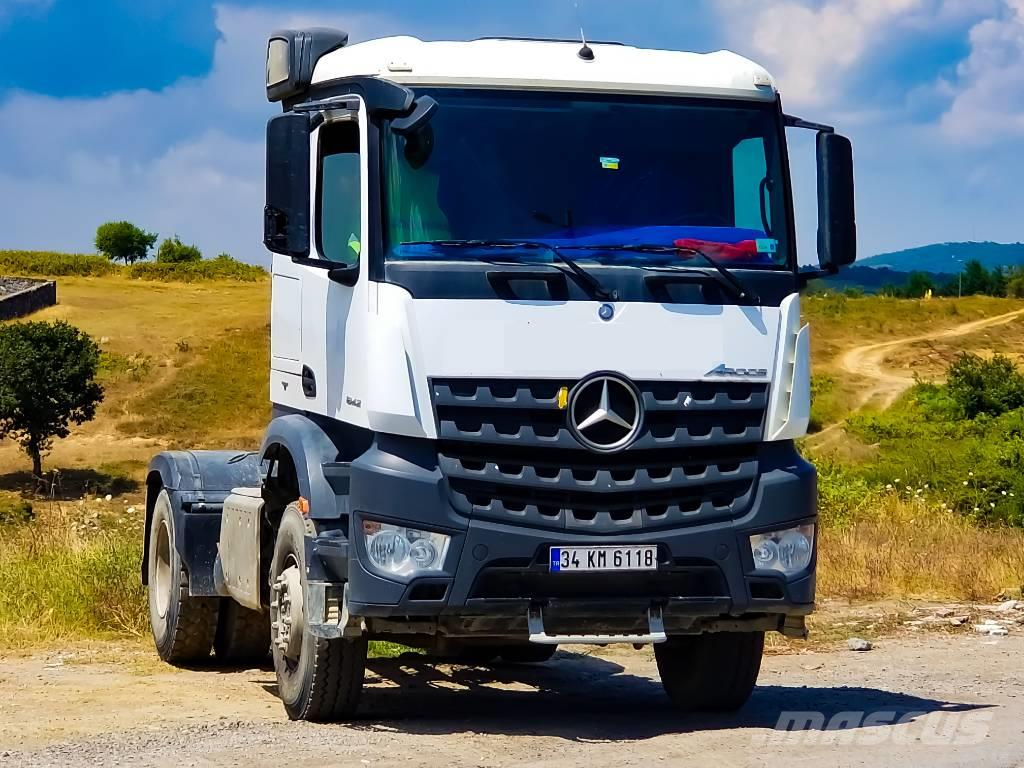used mercedes benz arocs 1842 tractor units year 2017. Black Bedroom Furniture Sets. Home Design Ideas