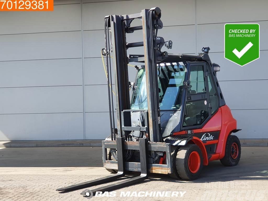 Linde H70 D -02 7 Ton - Diesel forklift - AC - Heated se