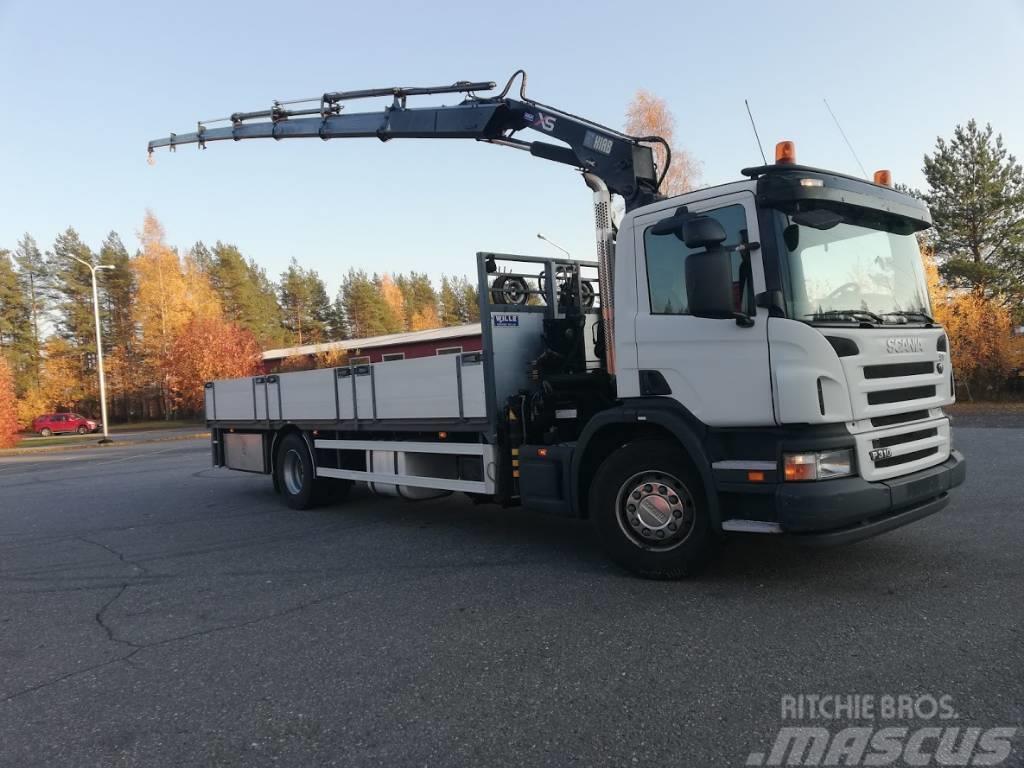 Scania P310   Hiab XS 166-4+2 HiDuo