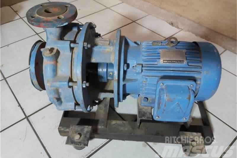KSB Pump Centrifugal Etanorm 40-250 and Moto