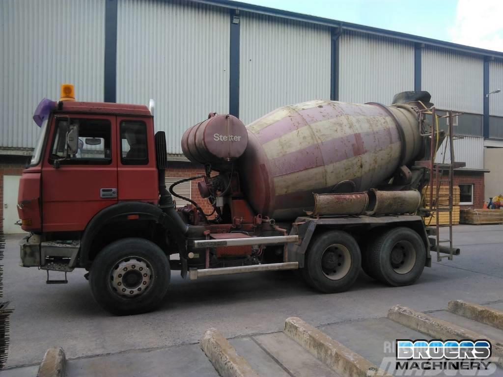 Iveco 260-25 AHB Stetter Betonmixer Cementmixer
