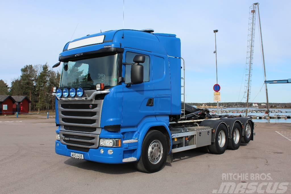 Scania R 490 LB8x4*4