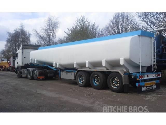Kässbohrer Tank ADR 40000 Liter Pomp