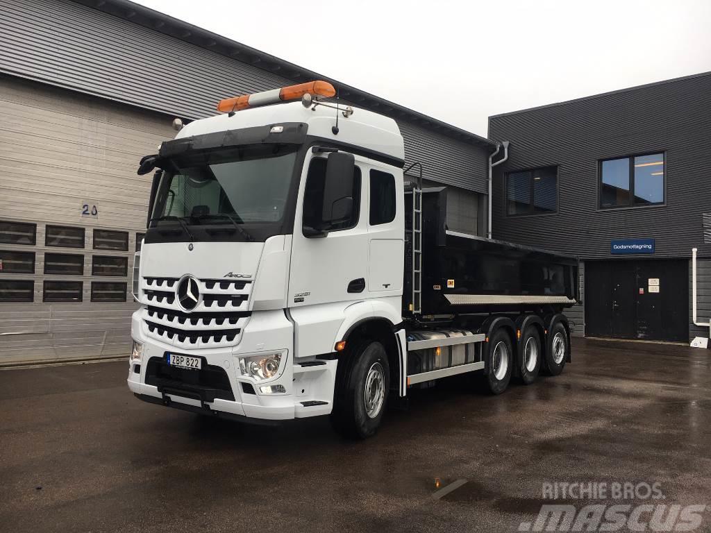 used mercedes benz arocs 3251l demobil tow trucks. Black Bedroom Furniture Sets. Home Design Ideas