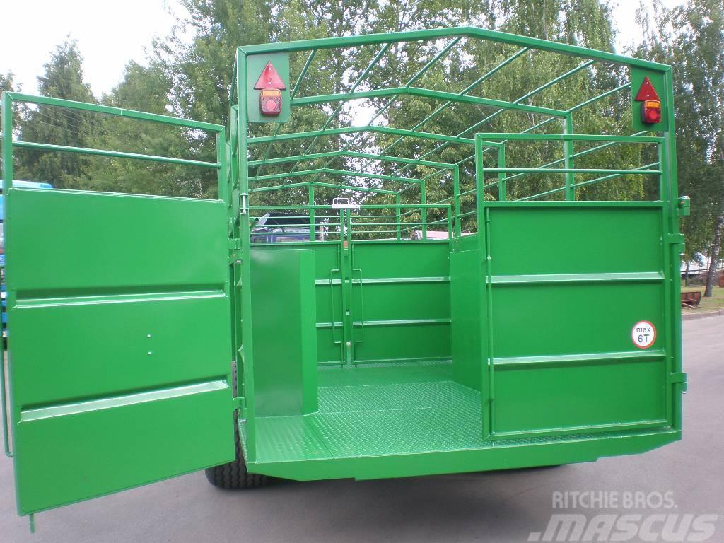 TRV-635 DINAPOLIS DINA TRV-635, 2017, Djurtransport trailer