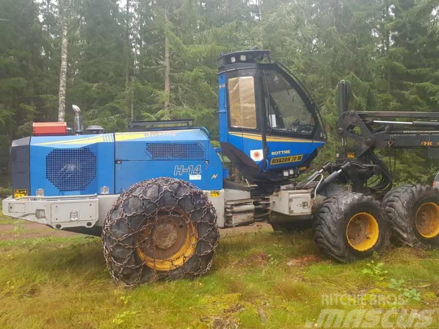 Rottne H14 med Logmax 5000