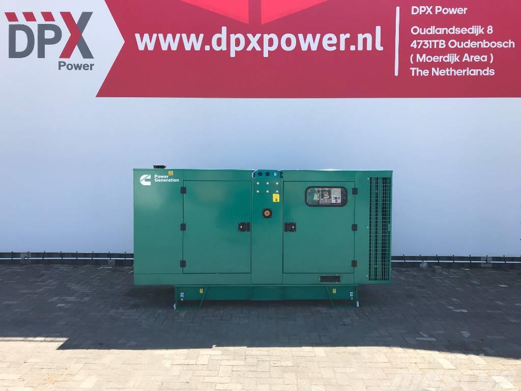 Cummins C110 D5 - 110 kVA Generator - DPX-18509