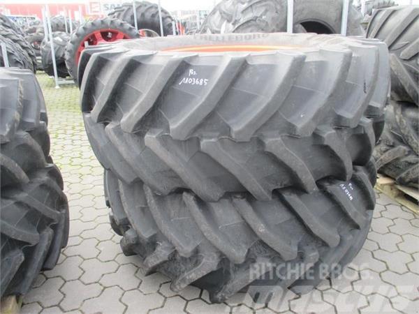 Trelleborg 2x Räder 650/65 R38