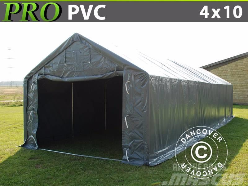Dancover Storage Shelter 4x10x2x3,1m PVC Telthal