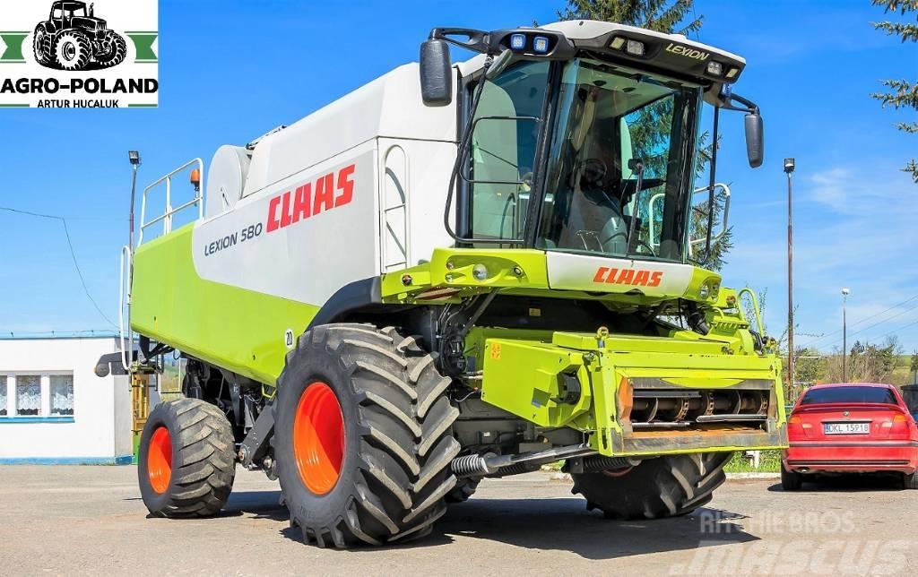 CLAAS LEXION 580 - 2674 h - V750 - QUANTIMETER