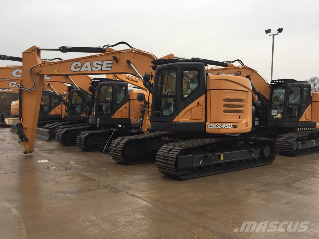 Used Case CX245DSR crawler excavators Year: 2019 for sale