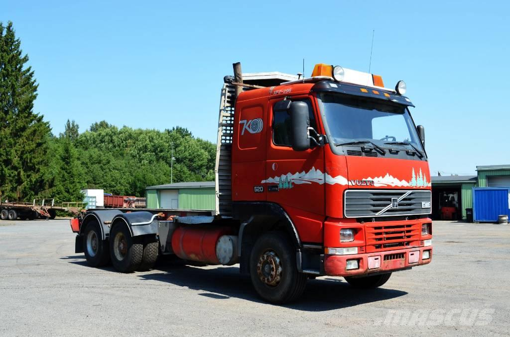 Volvo FH 16-520 6X4 Manual Full steel