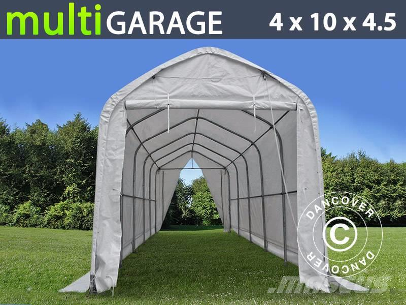Dancover Storage Shelter 4x10x3,5x4,5m, Lagertelt