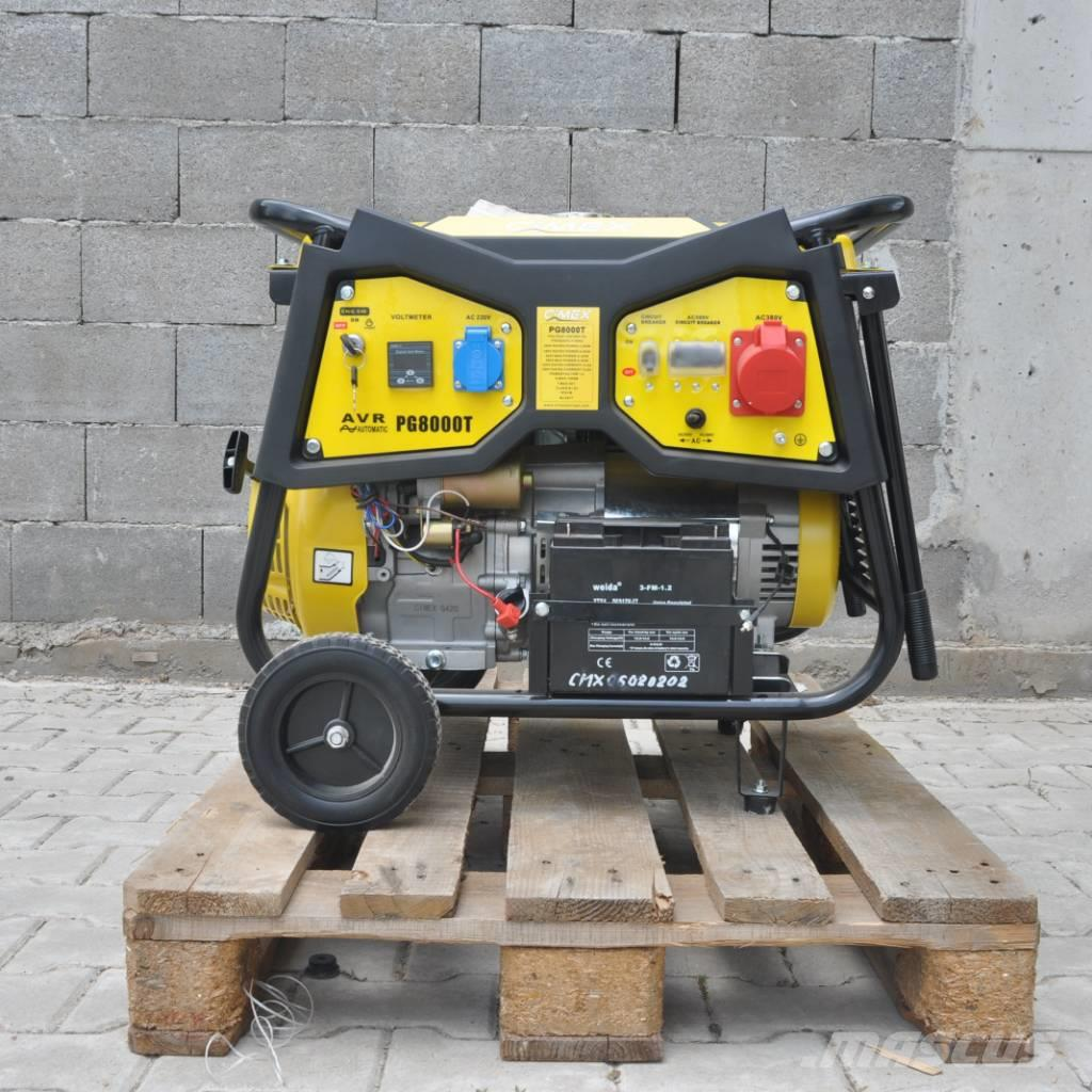 [Other] Petrol Generator 6.5 kW AVR CIMEX PG8000T