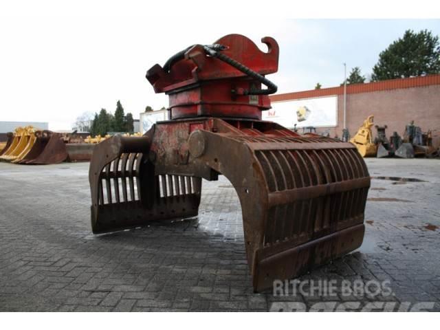 Caterpillar verachtert Demolition and sortinggrapple VRG40NNNO