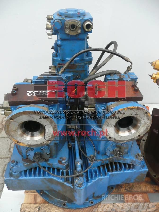 Liebherr 855 Palownica Pompa Zmiennik MKA400 + LPV150+ LPV1