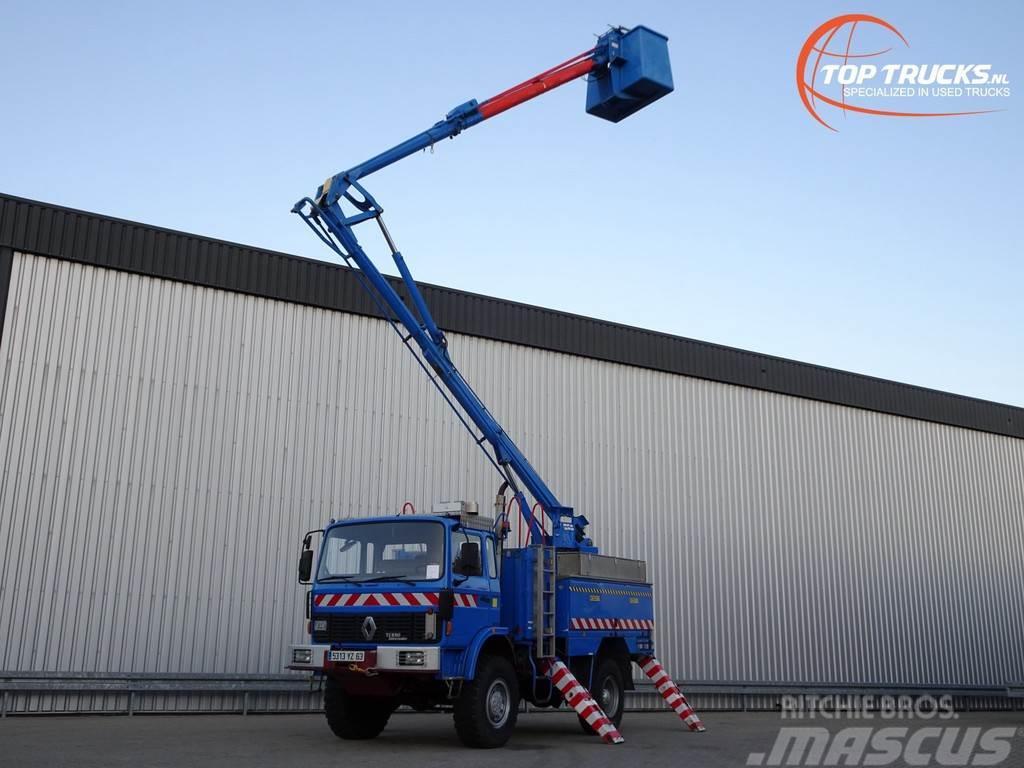 Renault M180 4x4 -17 mtr. Hoogwerker, Platform, Arbeitsbuh