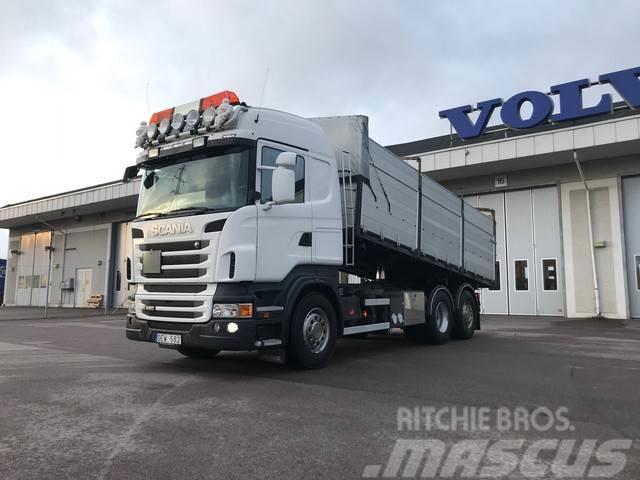 Scania R-serie Spannmålsbil, Kran,Truckhylsor, Euro 5.