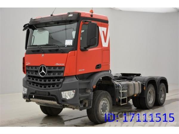 Mercedes benz arocs 3345 as 6x6 precio 2 036 402 a o for Mercedes benz 6x6 precio