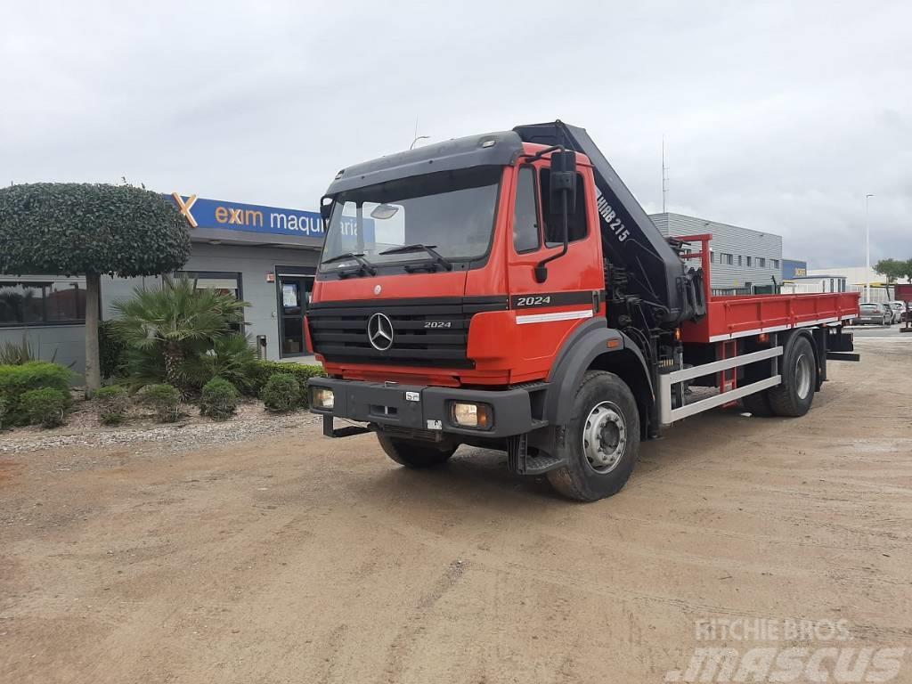 Mercedes-Benz 2024 + HIAB 225E-7