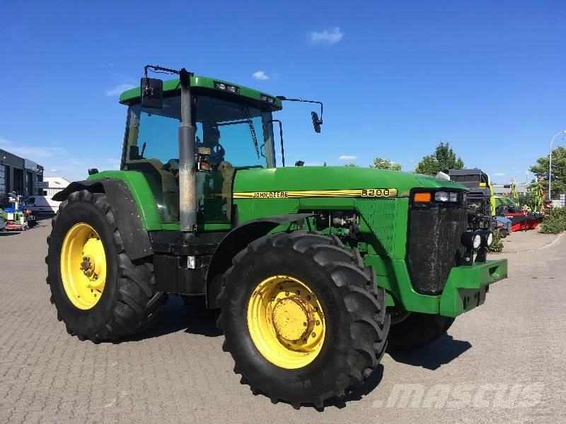 John Deere 8200 Powershift