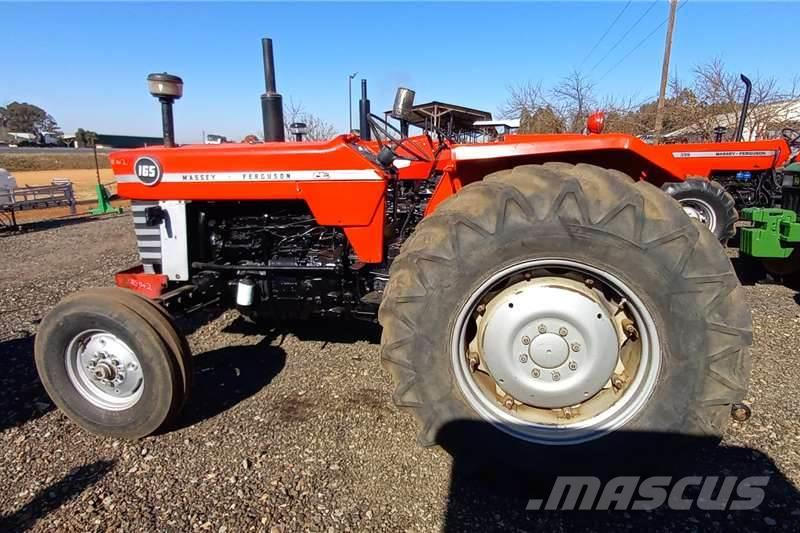 Massey Ferguson 165 with New Front Tyres