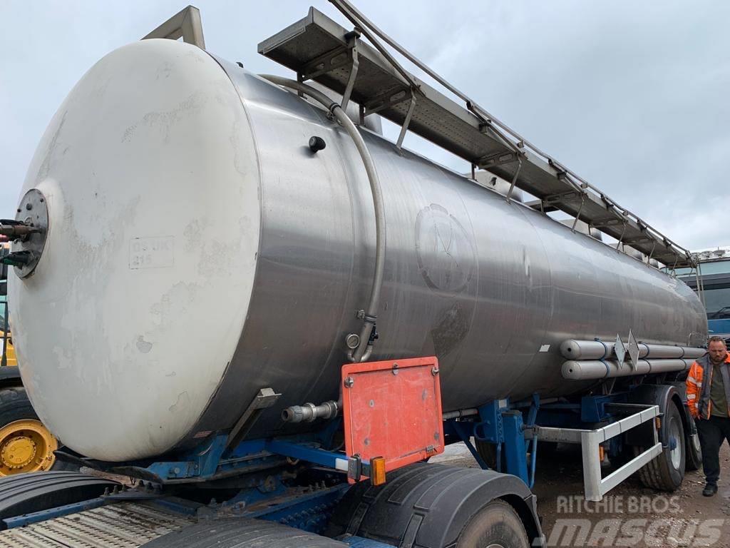 Magyar 30,000 Litre 316 Stainless Steel GP ADR Tanker