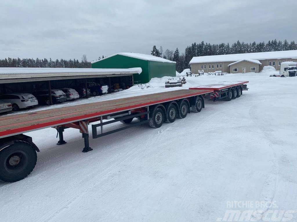 Kel-Berg Puoliperävaunu + Keskiakseliperävaunu