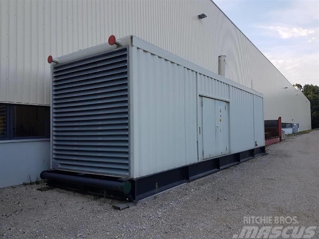 Caterpillar 3512B Generator 1500kVA 690V 50Hz
