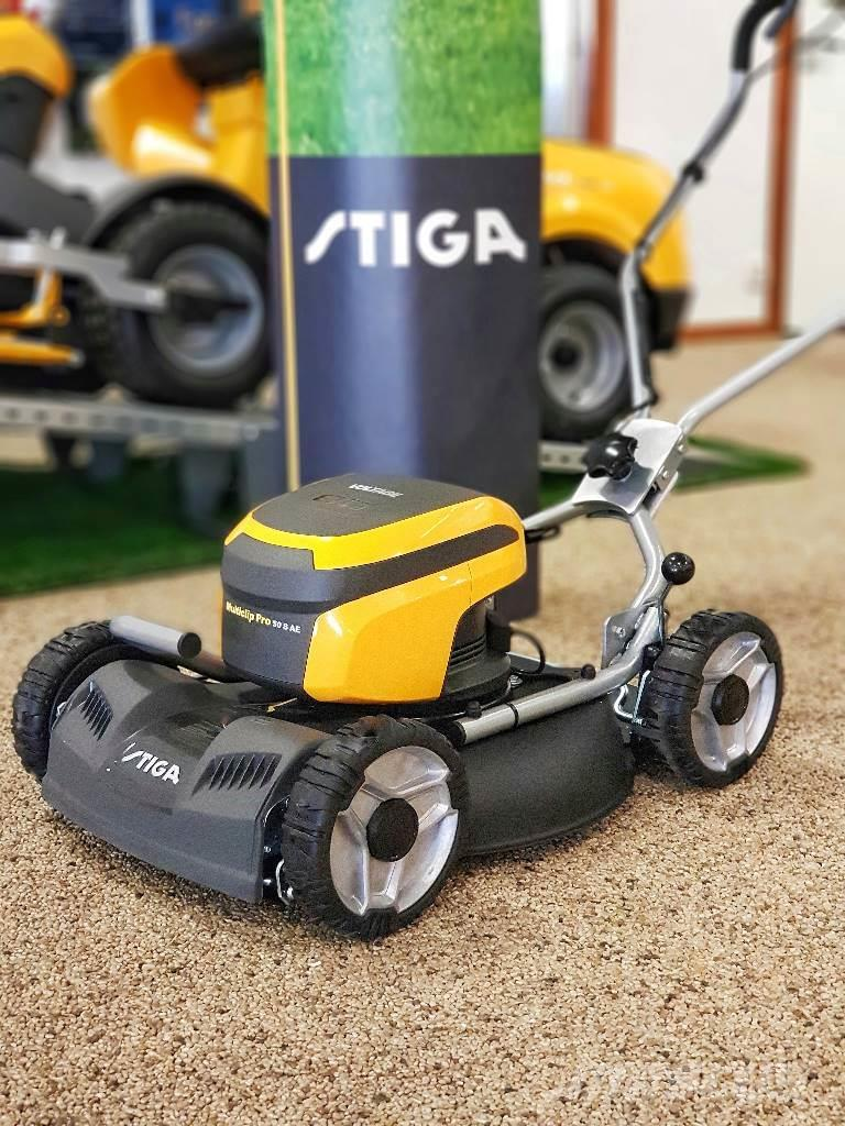 stiga multiclip pro 50s ae 80v batterigr sklippare walk behind mowers price 686 year of. Black Bedroom Furniture Sets. Home Design Ideas